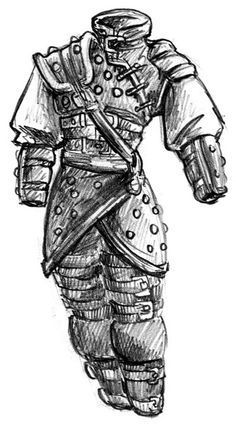 Image Result For How To Draw D D Armor With Images Studded