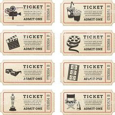 Vector Cinema tickets royalty-free vector cinema tickets stock illustration - do. - Vector Cinema tickets royalty-free vector cinema tickets stock illustration – do…, - Cinema Sign, Cinema Ticket, Pictures Of Turkeys, Famous Movie Scenes, Admit One Ticket, Letterhead Template, Cool Business Cards, Country Crafts, Crafts For Kids To Make