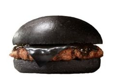 Black Burger King hamburger in Japan. Om nom nom?