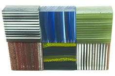 Crush Architectural Glass Surfaces are made from recycled granulated glass that is coloured and deposited in the kiln.