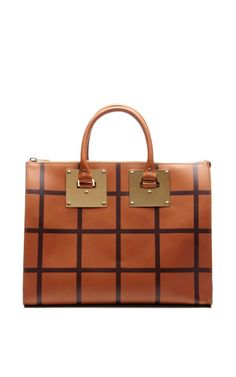 Zip Top Bowling Bag by Sophie Hulme for Preorder on Moda Operandi
