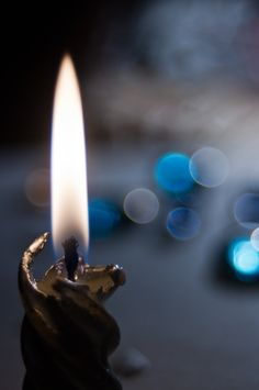 Invocation and Prayer ☽ Navigating the Mystery ☽ silver candle by Linara Khis