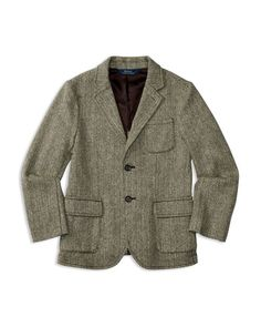 70's Chevoit Tweed Mens or Boys Gray Sport Coat Size 40R | Sport ...