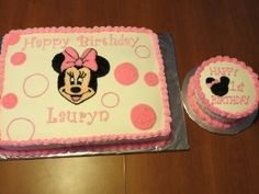 Minnie Mouse 1st Birthday By debber1 on CakeCentral.com