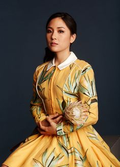 Constance Wu photographed by Roy Beeson for Yahoo Style