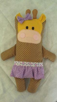 Naninha girafa menina