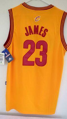 Adidas Cavs Authentic LeBron James Men s NBA Cleveland Cavaliers Classic Sz  L  adidas  ClevelandCavaliers 93278c214