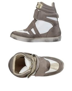 Ishikawa Women Sneakers on YOOX. The best online selection of Sneakers Ishikawa. YOOX exclusive items of Italian and international designers - Secure payments Ishikawa, Textiles, Suede, Soft Leather, Flats, Grey, Shoes, Closure, Women