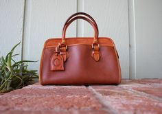 VTG Liz Claiborne Pebbled Leather Sienna Rust by Ramenzombie