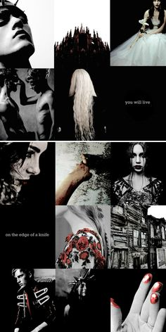 """""""you will be scrutinized. from now on, you will live on the edge of a knife. one false step, one wrong word, and you will suffer for it."""" #redqueen"""