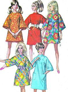 1960s Dress Pattern Simplicity 7674 Jiffy Mod A by paneenjerez, $10.00