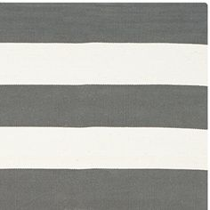 Safavieh Montauk Collection MTK712G Handmade Grey and White Cotton Square Area Rug, 6 feet Square (6′ Square) #handmade Add a fresh accent to your home with a new rug from the Safavieh Montauk Collection. The Safavieh Montauk Collection creates transitional, elegant looks with durable materials.  Each rug is handmade and hand-woven of from high-quality cotton.  This collection features vibrant, modern colors and are carefully picked to match any decor. These rugs are hand-woven from ..
