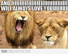 You read this singing....