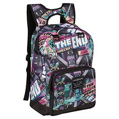 3d6410c6be New JINX Minecraft Tales from The End Kids Backpack (Multi-Color