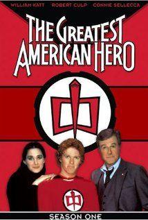 The Greatest American Hero (1981-1983) starring William Katt, Connie Sellecca, and Robert Culp.