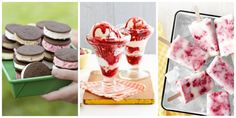 From sweet and fruity to light and creamy, few things are as refreshing as these homemade ice cream recipes, frozen desserts, and no-bake treats.
