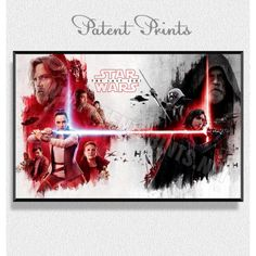 Тhe Last Jedi Star Wars 8 Poster Star Wars Prints, Star Wars Poster, Star Wars Tshirt, Last Jedi, Stars, Movies, Movie Posters, Film Poster, Films