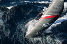 Volvo Ocean Race  Start of Leg 2. Day 1 from Lisbon to Cape Town.   : Ainhoa Sanchez