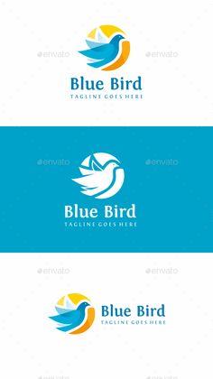 Bird Logo Template Vector EPS, AI Illustrator