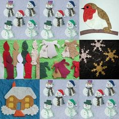 TRADITIONAL CHRISTMAS mulberry card die cut TOPPERS ROBIN bell SNOWFLAKE candle | eBay