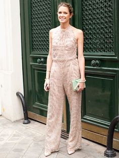 Fall 2013 Couture Week Street Style: An attendee at Valentino