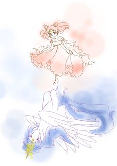 Small Lady and Pegasus by joker4msy.deviantart.com on @deviantART