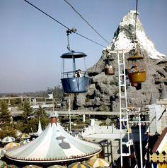 Skyway and Matterhorn 1960