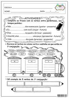 SOS PROFESSOR-ATIVIDADES: Verbo 1ª conjugação