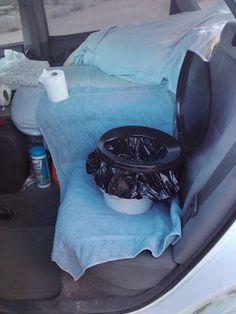 Travel car toilet mobile vehicle emergency toilet toilet ...