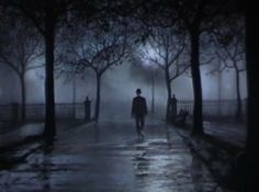 Darkened, rain slick streets...the wind blows...you pull your coat alittle tighter. Suddenly, you hear footsteps behind you...