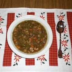 Authentic Pepper Pot Soup Recipe - Total ol' school recipe for a chilly night.