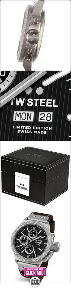 TW Steel reloj hombre Canteen Limited Edition Apex automática cronógrafo TWAC10  ✿ Relojes para hombre - (Lujo) ✿ ▬► Ver oferta: https://comprar.io/goto/B017KMMPFI
