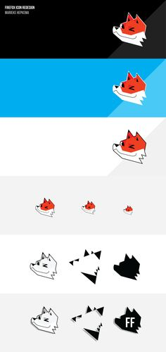 Firefox icon redesign (van Marieke Hepkema)