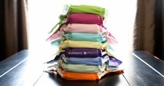 cloth diapering with fuzzibuns