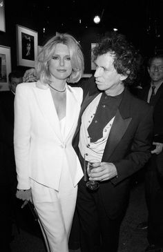 Patti and Keith. What a couple Veronica Lake, Olsen Scarlet Witch, Rolling Stones Keith Richards, Franklin Richards, Alexandra Richards, Patti Hansen, Steve Carell, Famous Couples, Vintage Rock