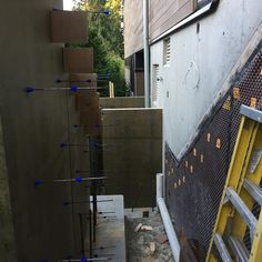 Working on some retaining #walls today for #BradnerHomes in #WestVancouver