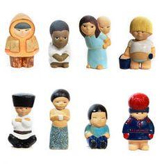 2 X 4 = 8 Children of the World  by Lisa Larsson - all världens barn. Väcker starkt habegär och födelsedagslängtan.