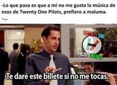 Resultado de imagen para memes twenty one pilots en español