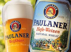 Paulaner Brewery in Munich, Germany. You'll frequently find their Weissbier Naturtrueb on tab.