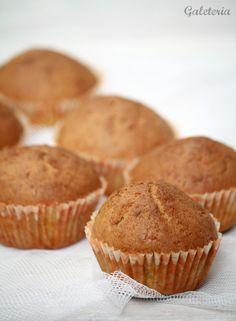Muffins de zanahoria - Receta paso a paso - Galeteria