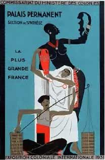 Exposition coloniale 1931 Vintage Travel Posters, French Art, Closer, Lamb, Empire, Bible, Europe, Usa, Grey