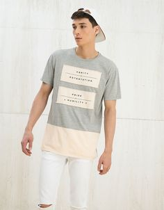 T-shirts - MAN - MAN - Bershka Ukraine