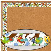 Boho Birds Straight Border Trim
