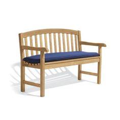 Oxford Garden Sunbrella Bench Cushion - 4 or 5 ft. Options - 1C60WA