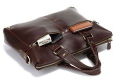 Handmade Brown ipad  Bag Men's Leather Messenger by fashionshop1, $81.99