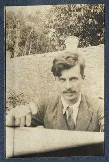 Aldous Huxley (born on 26 July 1894) by Lady Ottoline Morrell, 1917 © National Portrait Gallery, London