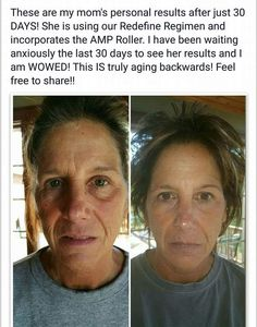 WOW! My jaw dropped seeing these results!  Real People getting REAL Results!   Mother's Day is right around the corner...Great Gift she will use!! www.taracampbell.myrandf.com