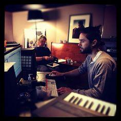 STEVE + JARED IN THE LAB http://instagr.am/p/NElICGgPun/
