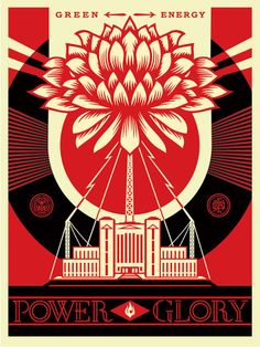 Upcoming POWER & GLORY art show at Halsey Institute of Contemporary Art in Charleston, S.C. show explores the various notions of American power and glory in terms of industry, authority, energy, the environment, politics, vice, and virtue. Keep an eye out for more. -Shepard 18 x 24 inch screen print. Signed and numbered edition of 450. $45, limit 1 per person/household.