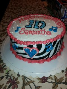 One Direction Birthday Cake!
